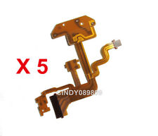5 Pieces of Flash Flex Cable Ribbon for Sony Cyber-shot DSC-H3 DSC-H10