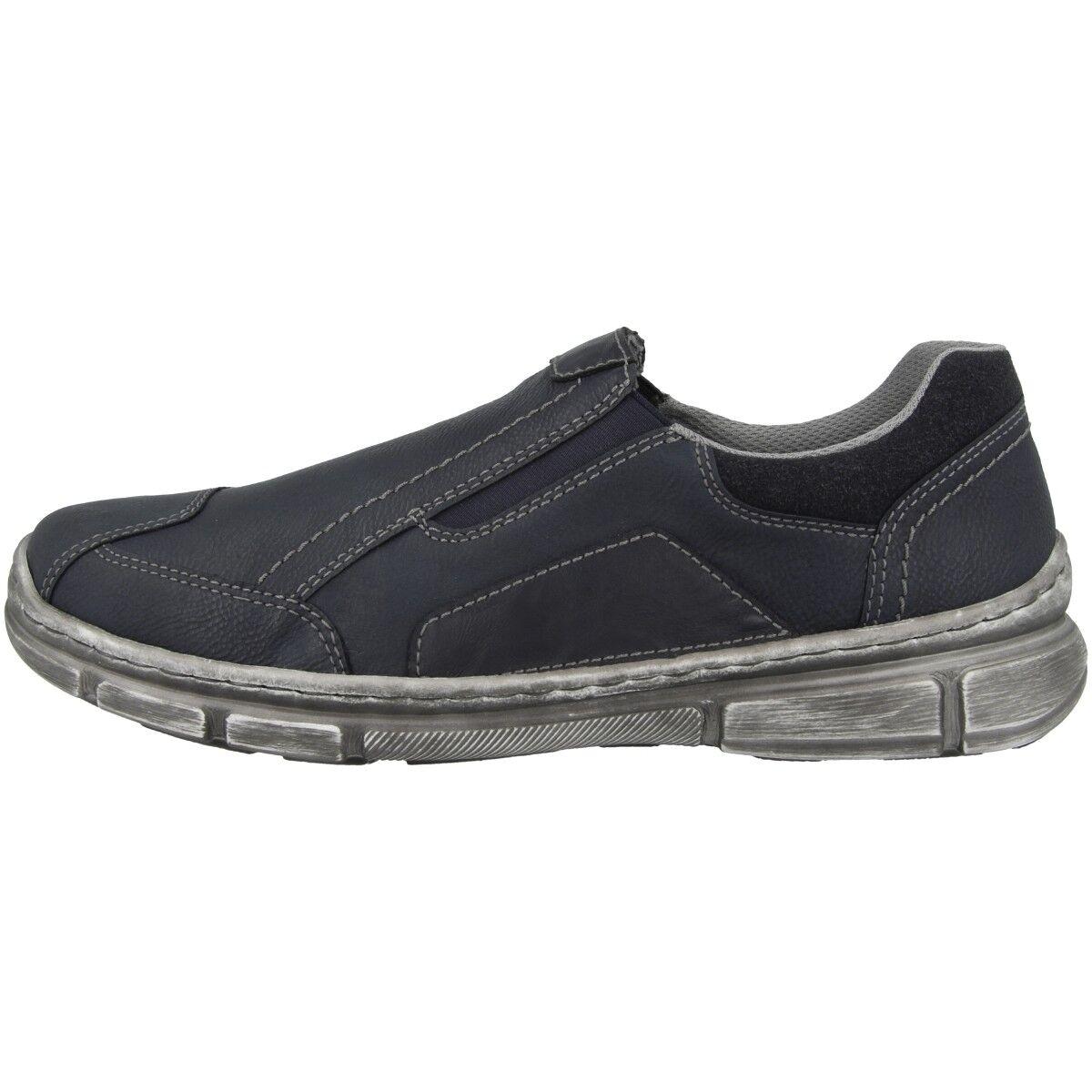 Rieker almada-malta-virage Men zapatos caballero zapatos abotinados cortos azul 13761-15