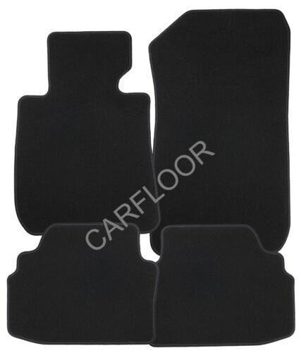 6.01-10.07 Fußmatten Velours Deluxe schwarz Für  Mini Cabrio R52 Bj