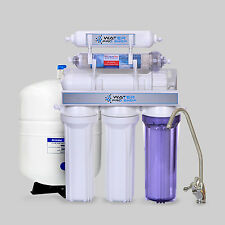 6 Stage Drinking Water Reverse Osmosis Filter System w/ pH Alkaline | 150 GPD