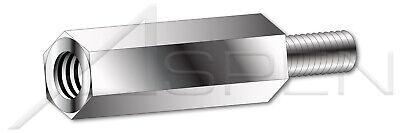 5//16 Across Flats 100 pcs 10-32 x 1//2 303 Stainless Steel Hex Standoffs