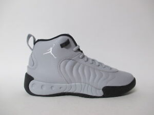ef2bea333ae1 Air Jordan Jumpman Pro XII Wolf Grey White Black GS Grade School Sz ...