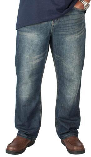 Kam Mens Big King King Sizes  Heavy Duty Jeans Heavy Duty Waist Sizes 40 to 60