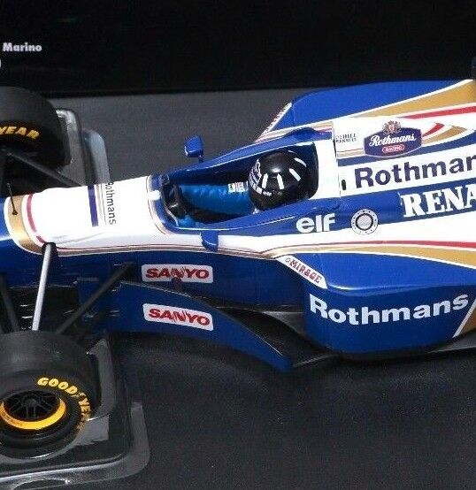 Minichamps F1 1 18 1996 Damon Hill Williams FW18 WDC-Japón Grand Prix (tabaco)