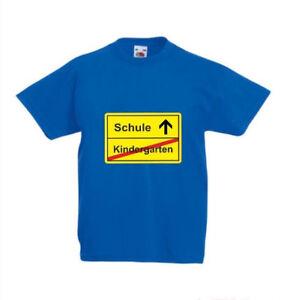 Kindergarten Schule Kinder Fun Shirt mit Druck, tolles Geschenk