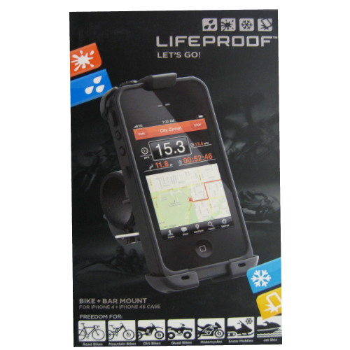 LifeProof Bike Mount for Apple iPhone 4 4S Fre Case Black NEW OEM