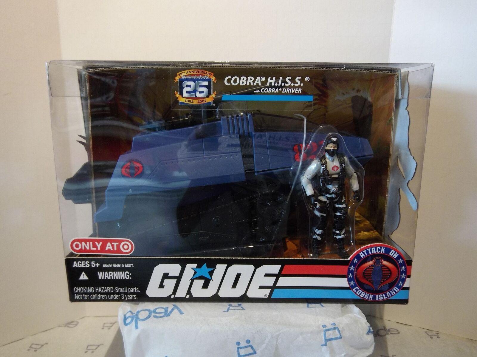 GI JOE -  Cobra Hiss Tank w/ Cobra Infantry Trooper - 2007