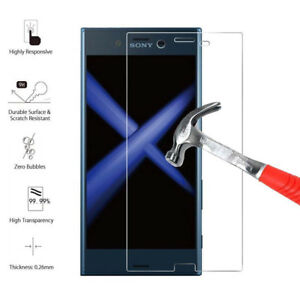 For Sony Xperia XZ1 - 100% Genuine Tempered Glass Film Screen Protector
