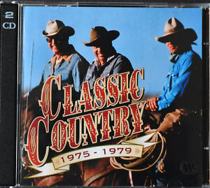 Classic-Country-1975-1979-Time-Life-2CD-Set-Various-Artists