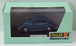 Faller-Memory-Cars-1-43-4351-VW-Kaefer-Baujahr-1962-OVP-NEU-NEW