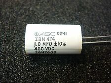 ASC METALLIZED POLYPROPYLENE CAPACITOR  1.0uF  400V 10%   **NEW** 1/PKG