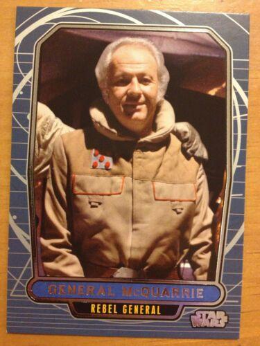 Star Wars 2012 Galactic Files 2 #493 General McQuarrie Rebel General Mint