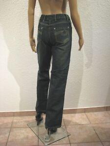Damen-Jeans-Cheer-Spontan-Indigeo-Bootcut-Gr-40-42-Blautoene-Used-Sale-NEU
