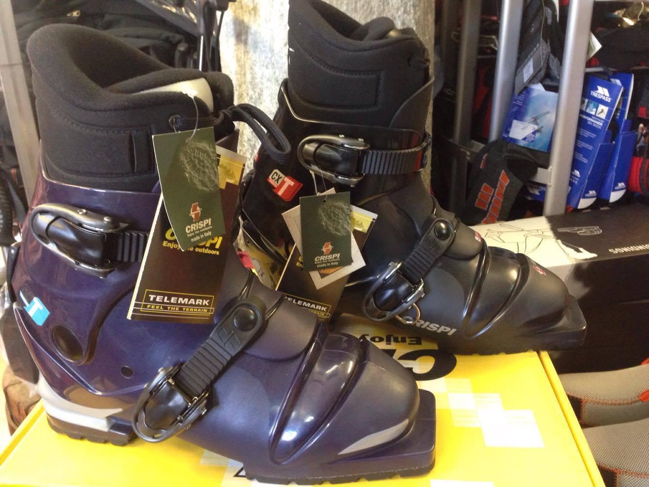 Crispi CXT scarponi da telemark fondo escursionismo 75mm backcountry ski stivali