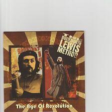 Duckworth Lewis Method-The age of Revolution UK promo cd single
