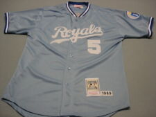 quality design 22482 081dc George Brett Kansas City Royals Baseball Jersey for sale ...