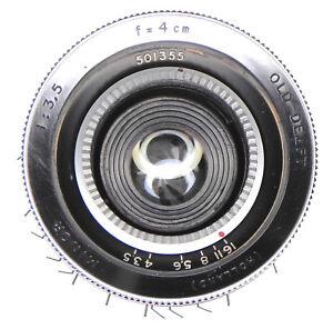 Old-Delft-4cm-f3-5-Minor-Exakta-mount-501355-Very-Rare