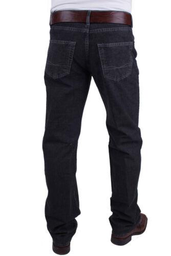 HUGO BOSS Pantalon jeans pour hommes Texas noir à rayures fines