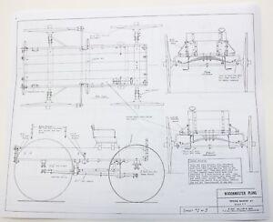 WagonMaster-Western-Horse-Drawn-Buckboard-Spring-Hay-Wagon-Vintage-Model-Plans