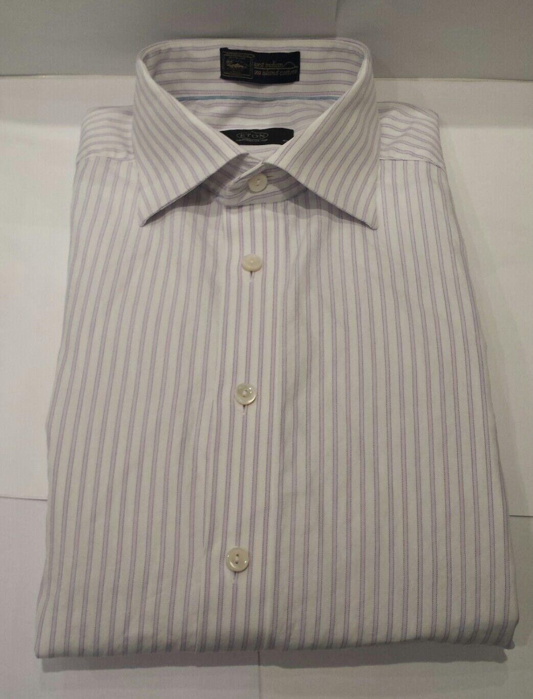 Uomo formale Eton (ganghester 1928) Camicia, (PREMIO DI LUSSO) Dimensione - 17