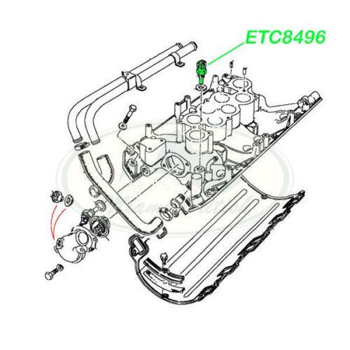 LAND ROVER TEMPERATURE SENSOR RR CLASSIC DISCOVERY RR P38 DEFENDER ETC8496 IM