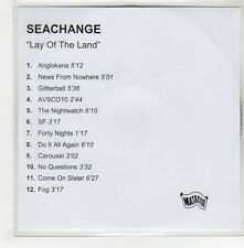 (GH698) Seachange, Lay of the Land - DJ CD