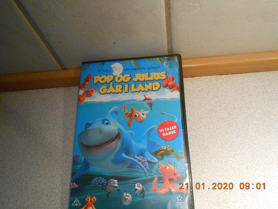 Pop og Julius går i Land, instruktør En haj til fisk, DVD
