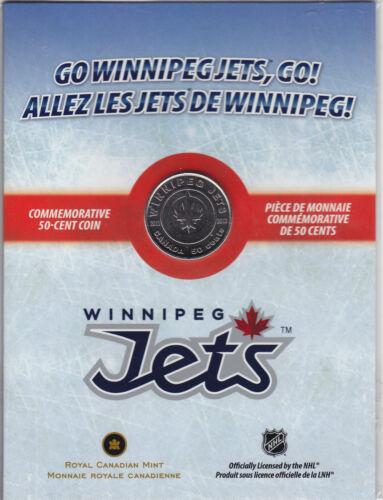 2011 Canada 50 cent Winnipeg Jets