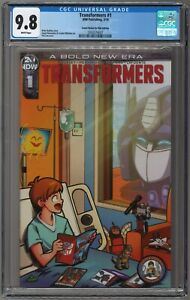 Transformers-1-CB4K-Comic-Books-For-Kids-Variant-CGC-9-8-LIMITED-to-150-COPIES