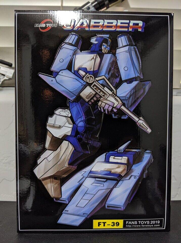 Transformers obra maestra FansJuguetes FT-39 Jabber Nuevo