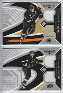 2014-15-UD-BD-COREY-PERRY-JERSEY-DUAL-GAME-USED-Black-Diamond-Upper-Deck-Ducks