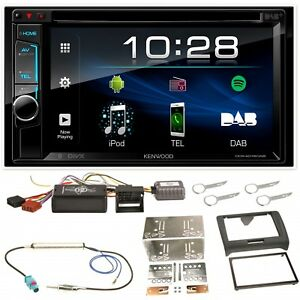 Kenwood-DDX-4018DAB-Bluetooth-Moniceiver-DVD-CD-USB-MP3-Einbauset-fuer-Audi-TT-8J