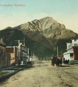 Postcard-1911-Banff-Alberta-Canada-Vintage-P23