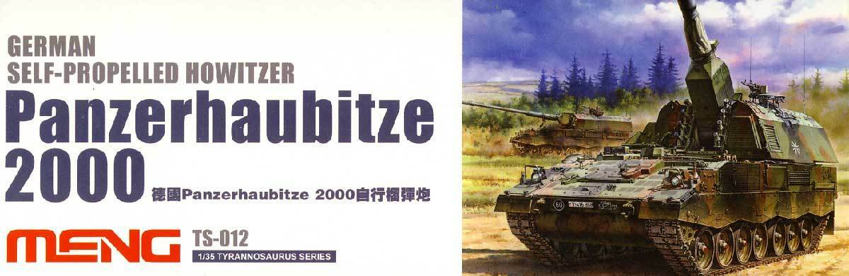 Meng Tank Howitzer 2000 Howitzer Tank Greece 1 3 5 Model Kit