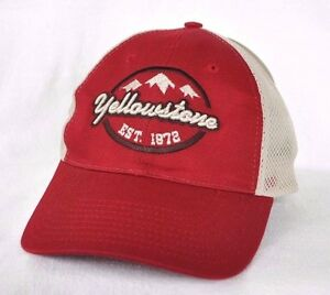 Image is loading YELLOWSTONE-NATIONAL-PARK-Trucker-mesh-Ball-cap-hat- 5cf9fbfc9b9f