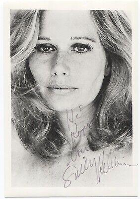 Learned Sally Kellerman Signed Card Autographed Signature Star Trek Autographs-original