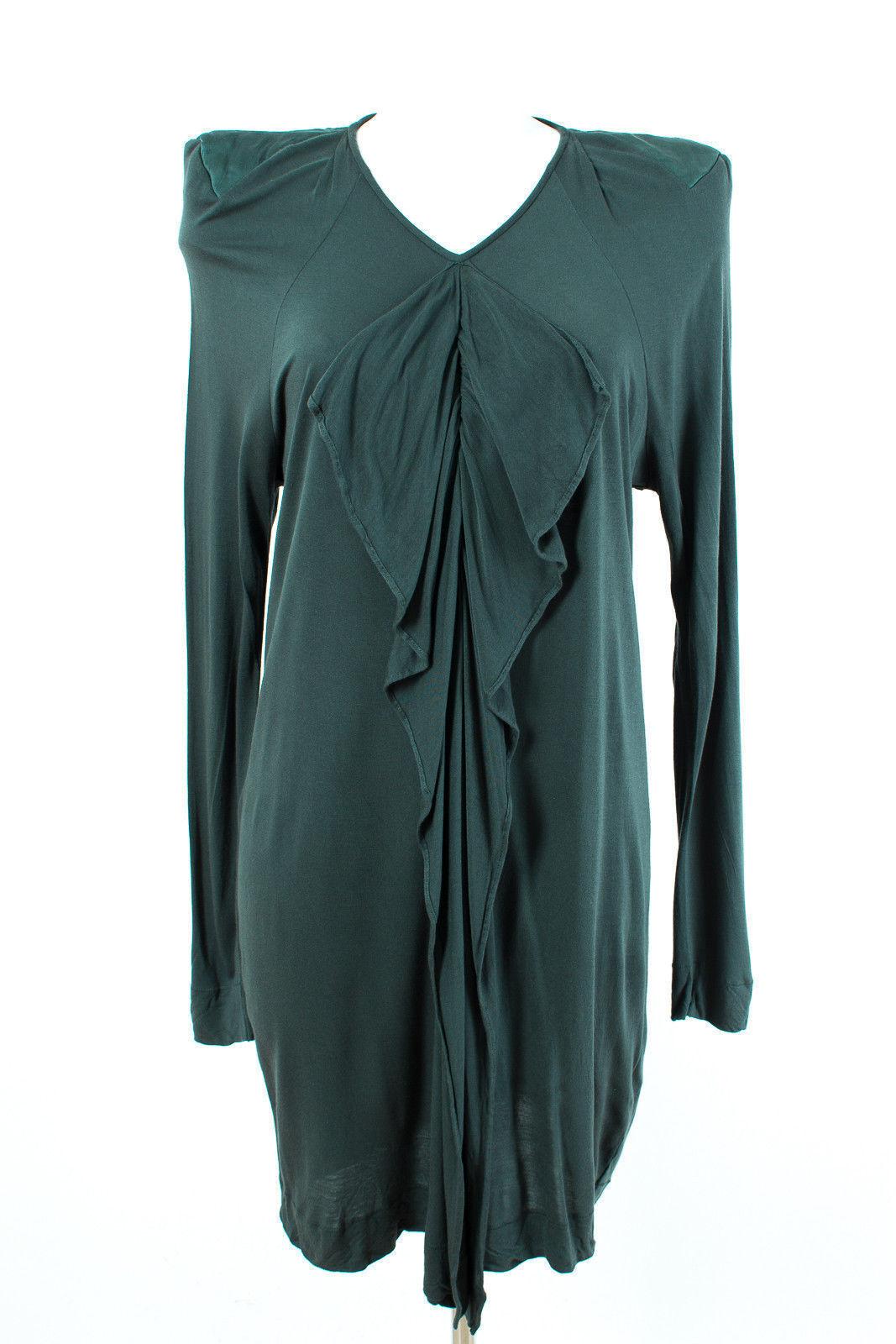 Malene Birger vestido talla L 40 camisa vestido stretch stretch stretch Jersey dress robe b7206a