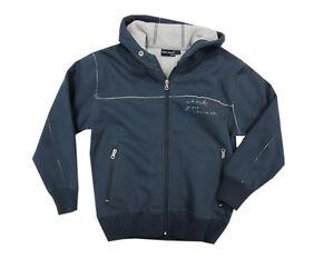 Seven Jacke Sweat Details Zu Gr Baumwolle Kapuzenjacke 140 Blue Sweatjacke Teddyfutter Blau jLSGzMpUVq