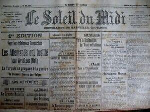 WW1-the-Judgment-Last-Sicard-Chronicle-Marseille-the-Sun-the-Midi-8-9-1914