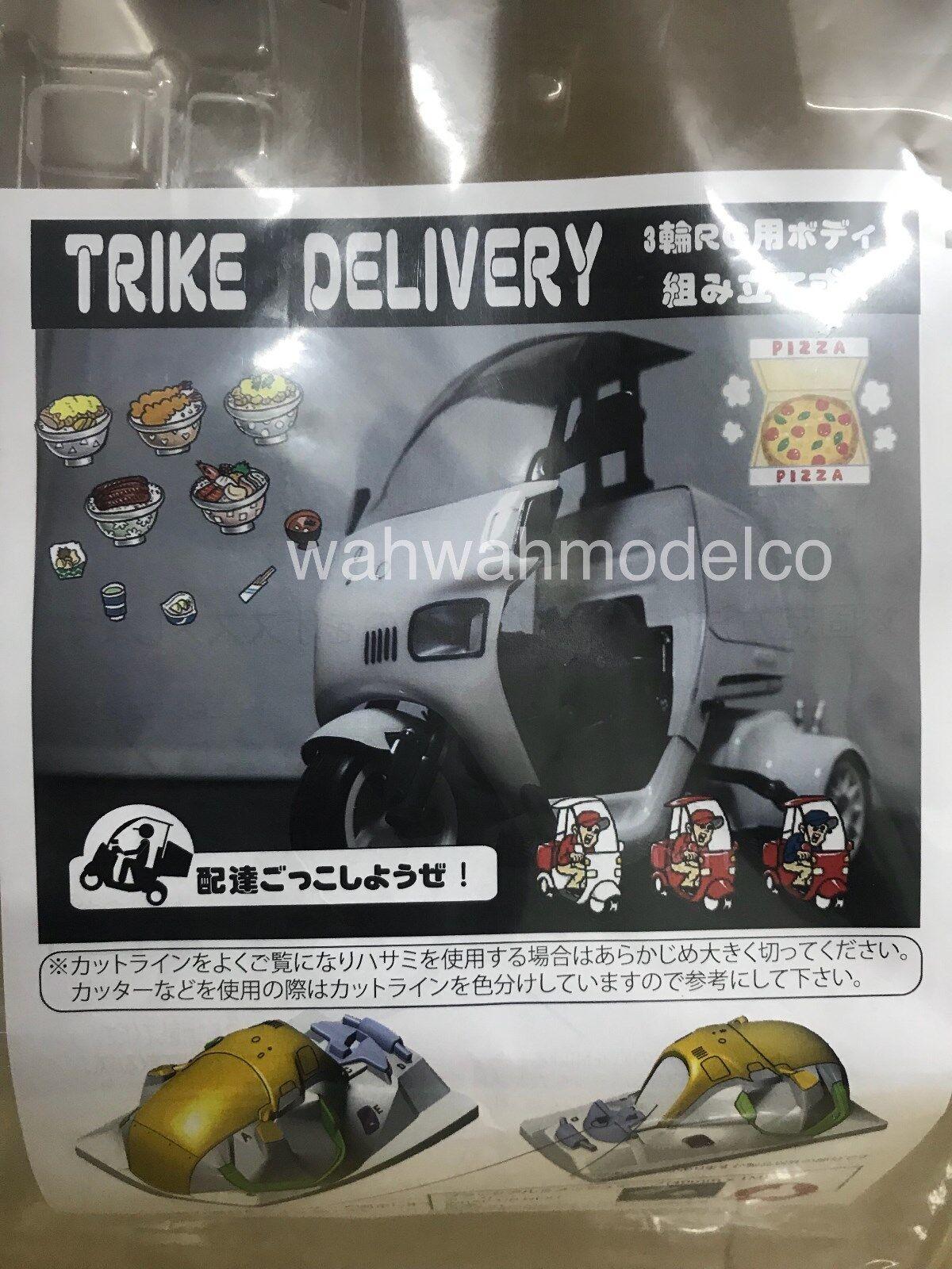 Addiction RC TRIKE DELIVERY Clear Body Set For Tamiya Tamiya Tamiya T3-01 Dancing Rider  AD019 82c64f