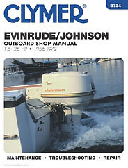 JOHNSON-EVINRUDE-WORKSHOP-MANUAL-1-5-to-125hp-ENGINES-1956-to-1972-B734-CLYMER