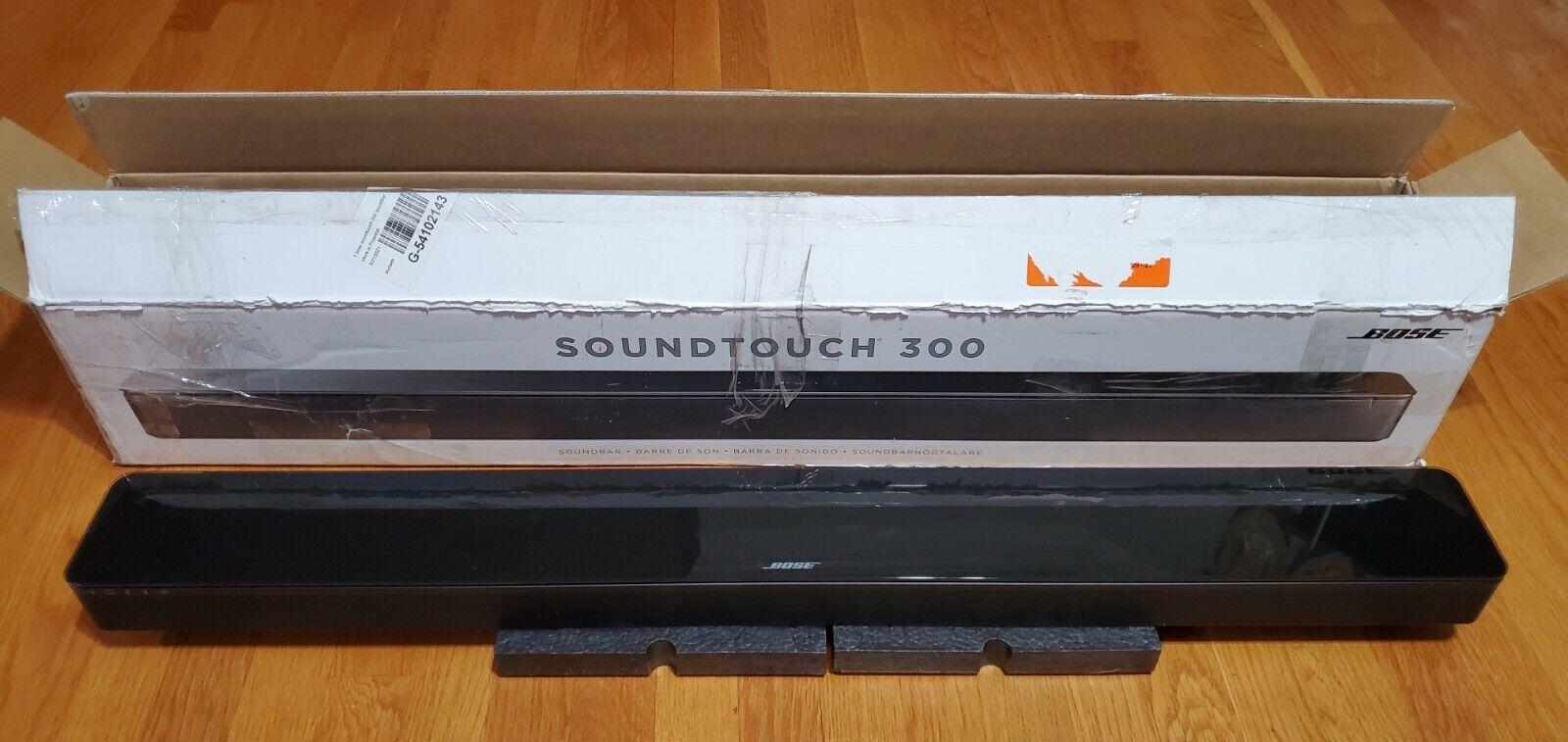Genuine Bose Sound Touch 300 Soundbar (NO Remote Control). Buy it now for 299.00