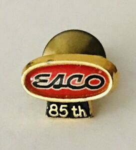 EACO-Organisation-85th-Year-Advertising-Small-Lapel-Pin-Badge-Rare-Vintage-H7