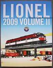 Original 2009 Lionel Model Trains & Accessories Catalog Volume II - with Prices