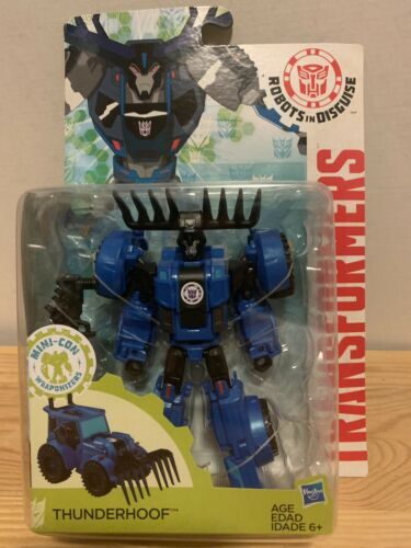 Transformers Warrios 6inch ThunderHoof Includes 1 Weapon Accessory