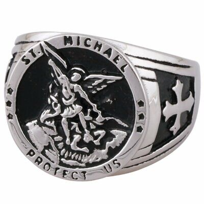 Michael Badge Ring Size 10 FB Jewels 925 Sterling Silver St