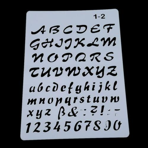 Alphabet Number Metal Cutting Dies Stencils DIY Scrapbook Cards Crafts Decor KS