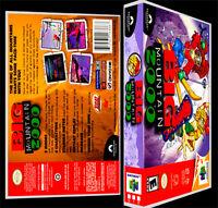 Big Mountain 2000 - N64 Reproduction Art Case/box No Game.