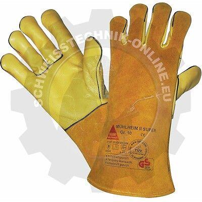 Hase MIG//MAG Handschuh Mühlheim rot Gr XL 301000-10 Handschutz MAG Handschuhe