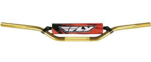 Fly Racing Gold` 6061 T-6 Aluminum Handlebar Honda CR High MOT-123-6X-HAGO